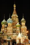 kyrktar moscow russia Royaltyfri Foto