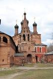 kyrktar ortodoxa moscow Arkivbild