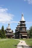 kyrktar ortodoxt trä Royaltyfri Bild