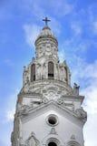 Kyrktorn av domkyrkan för Quito` s Fotografering för Bildbyråer