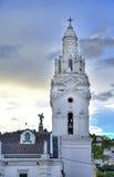 Kyrktorn för domkyrka för Quito` s Royaltyfria Foton