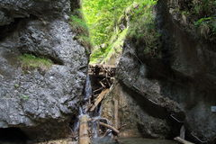 Kysel ravine in Slovak Paradise National park, Slovakia Stock Photography