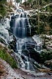 Kysovicky-Wasserfall Lizenzfreie Stockfotografie