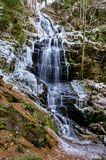 Kysovicky waterfall Royalty Free Stock Images