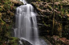 Kysovicky waterfall Royalty Free Stock Photo