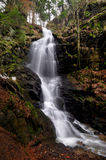 Kysovicky waterfall stock photo