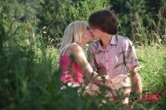 kyss Arkivfoton