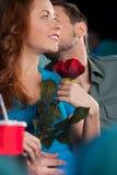 Kyss. Royaltyfria Bilder