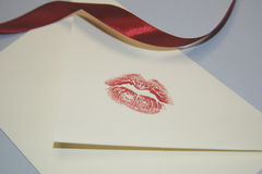 kyss Arkivfoto
