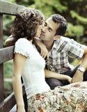 Kyss Arkivbilder