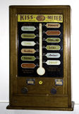 Kyss-nolla-meter maskin Fotografering för Bildbyråer