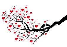 kyssa för fåglar stock illustrationer