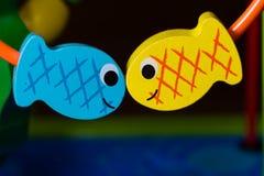 kyssa för fisk Arkivfoto
