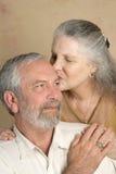 kyssanbud royaltyfri bild