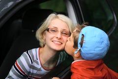 kyssande sötsak Fotografering för Bildbyråer