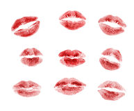 kyssar Arkivbild