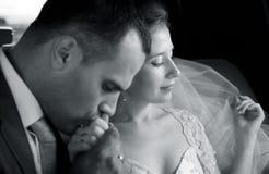 kyssar Fotografering för Bildbyråer