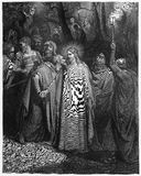 Kyssen av Judas Royaltyfria Foton
