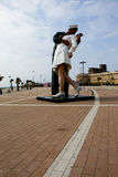 Kyssen av segern Royaltyfria Bilder