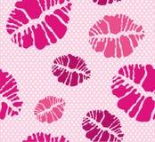 kyssmodell vektor illustrationer