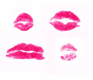 kysspink royaltyfri illustrationer