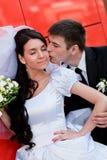 kyssredvägg arkivfoto