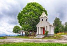 Kysuce Chapel in Zablatie Stock Images