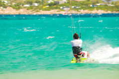 Kyte surf Royalty Free Stock Photo