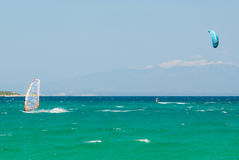 Kyte surf Royalty Free Stock Photography
