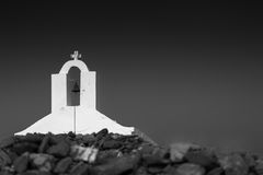 Kythnos chapel belfry Stock Photos