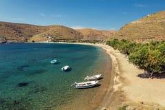 Kythnos Grèce Photographie stock libre de droits