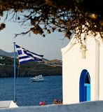 Kythnos island  Royalty Free Stock Image