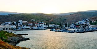 Kythnos island in Greece Royalty Free Stock Photography