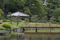 Kyu-Shiba-Rikyu Garden, Tokyo, Japan Stock Photography