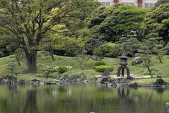 Kyu-Shiba-Rikyu Garden, Tokyo, Japan Stock Photos