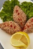 Kyufta Armenian recipe Stock Photo