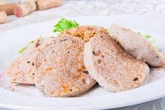 Kyufta armeno servito con pilaf Immagine Stock