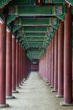 Kyung Bok Palace in Corea Fotografia Stock
