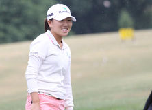 In Kyung Kim at  Evian Masters 2010 Stock Photo