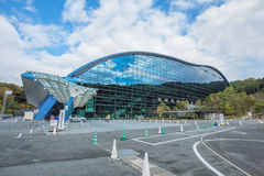 Kyushu National Museum at Dazaifu in Fukuoka, Japan Stock Images