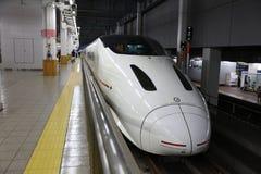 Kyushu Shinkansen 800 series bullet train Stock Photography