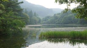Kyushuu, Japan. Lake in prefecture Fukuoka, Japan royalty free stock images