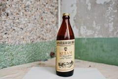 Kyznetsovsk Ukraina, Lipiec, - 09, 2016: Butelka stary Azerbejdżan w Obraz Royalty Free