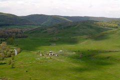 Kyzyl-Tash country royalty free stock photo