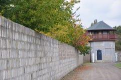 kz sachsenhausen стоковая фотография rf