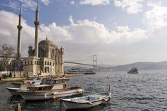 Là où deux continents se réunissent : Istanbul photo stock