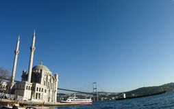 Là où deux continents se réunissent : Istanbul image stock