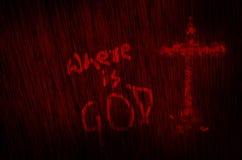 là où est le fond de texture de sang d'un dieu Photographie stock libre de droits