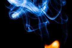 Là où il y a le feu il y a de fumée Images stock