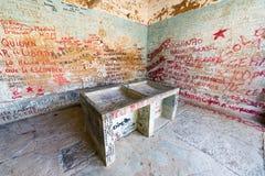 Là où le corps de Che Guevara a été montré après la mort Photo stock